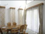 サンダーソン社イギリス製綿プリントカーテン