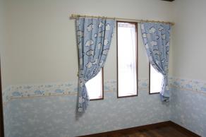 【子供室のカーテン】
