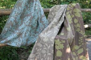アイテム紹介 自然素材のカーテン