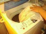 カーテンの洗濯