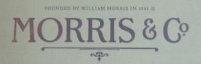 『ウィリアム・モリス』 ファブリック ウォールペーパーコレクション入荷