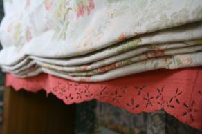 シェード裾装飾(ヒートカット加工)