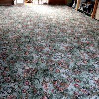 二間続きの和室に英国製アキスミンスター織り高級カーペット