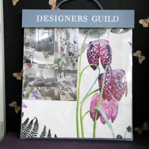 デザイナーズ・ギルド2014 BOOKサンプル 「KAORI」