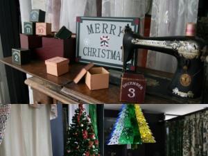 店内クリスマス飾り