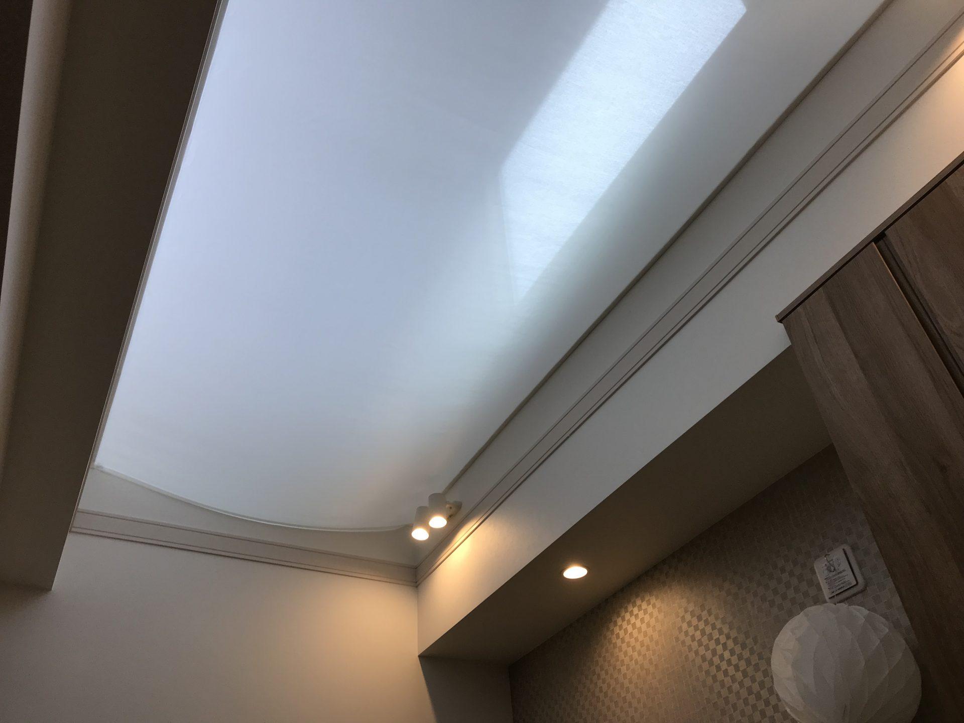 天幕カーテン固定式