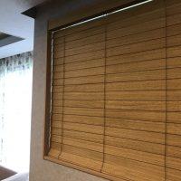 木製ブラインドの羽根幅は、60㎜もおススメします。