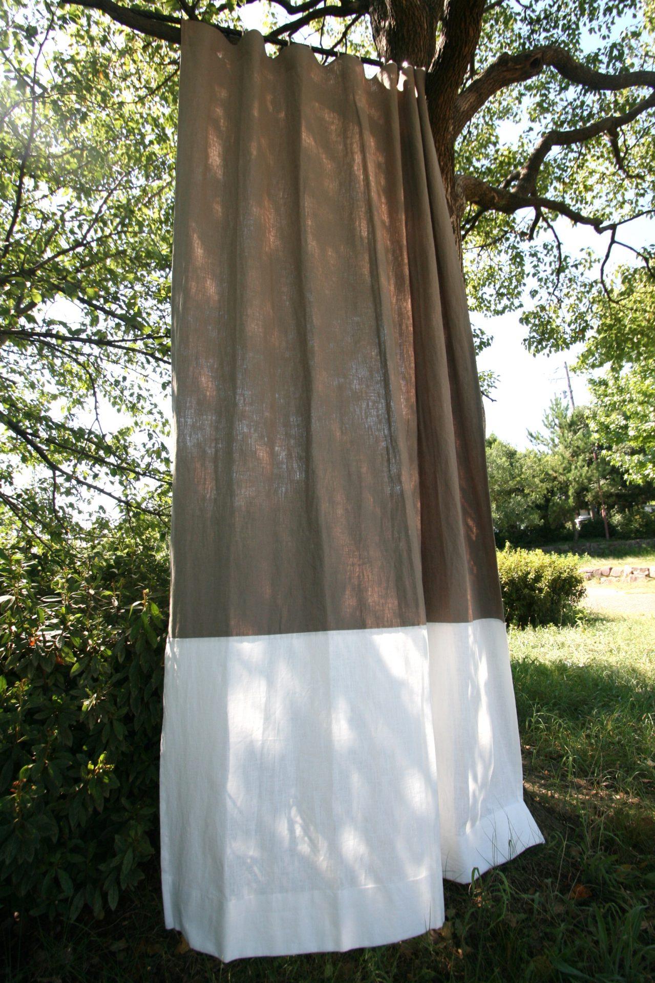 麻カーテンの魅力は「癒し・潤い・優しさ」そしてカラー