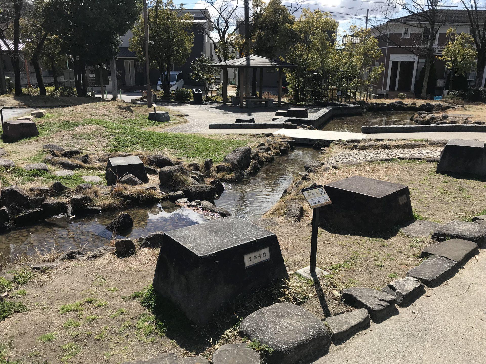 桶狭間古戦場ジオラマ