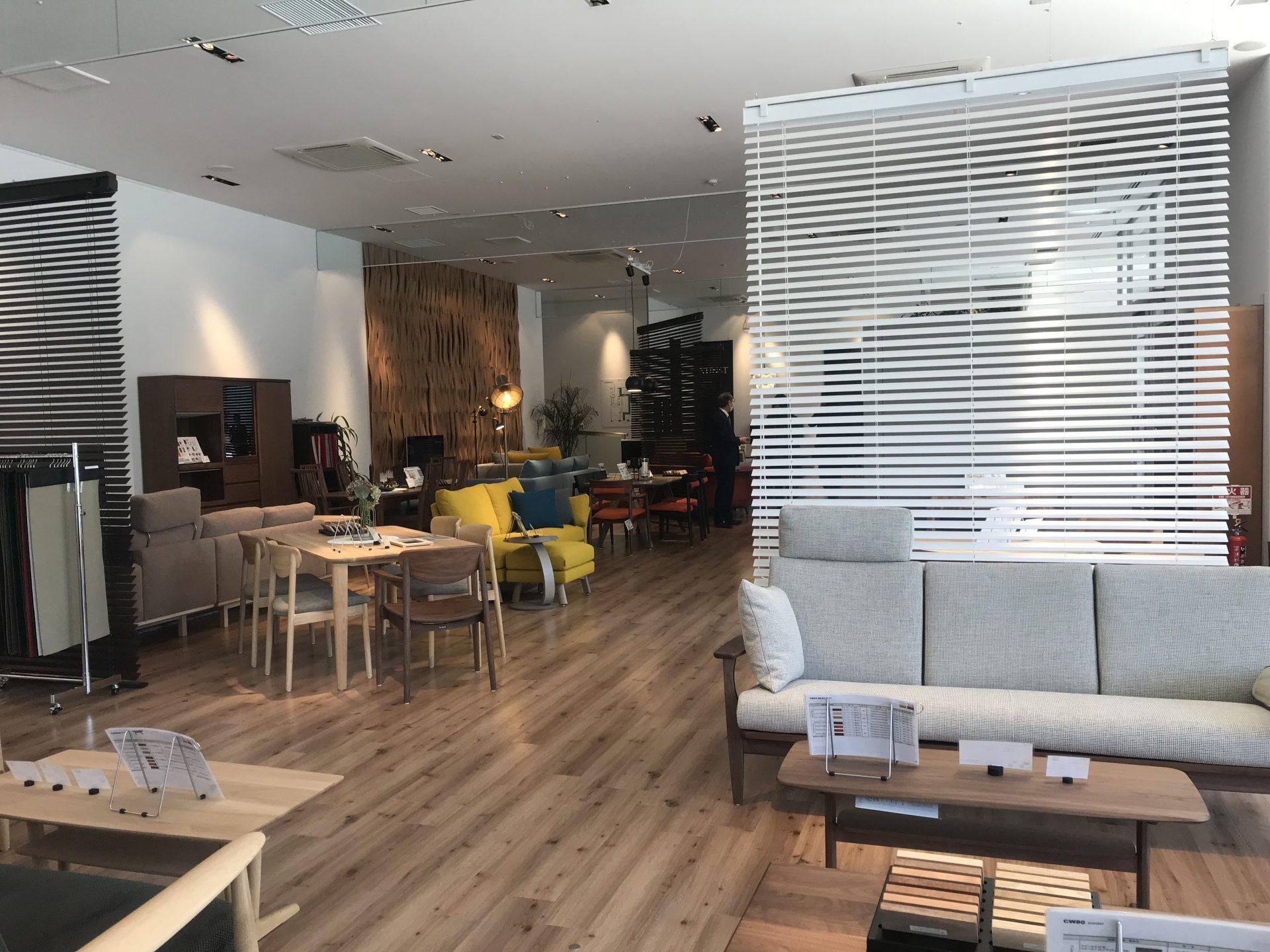 カリモク家具は、長く使える家具です。