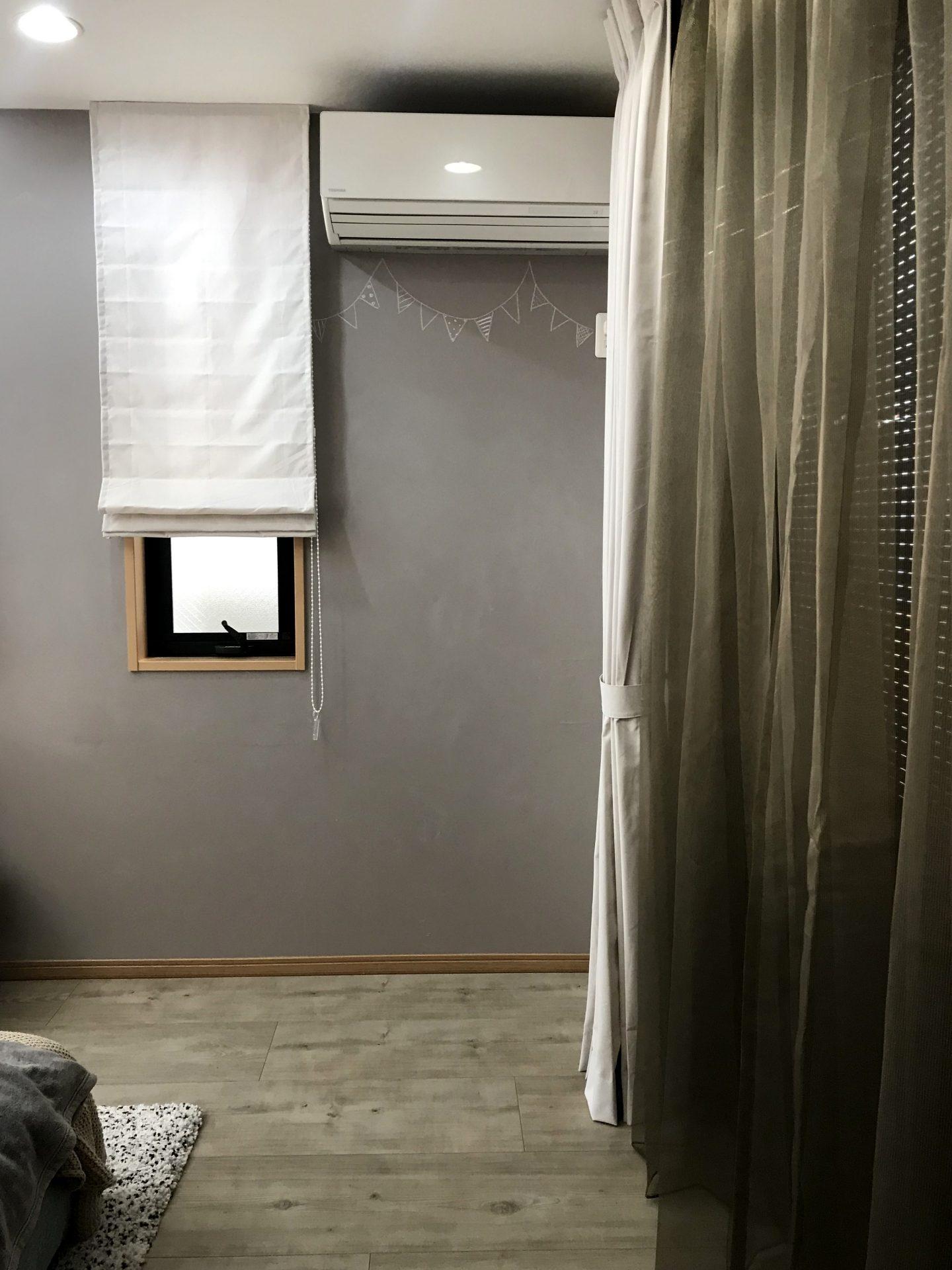 柔らかな風合いに癒されるコットンライクなカーテン
