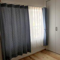 瀬戸内デニムで子供部屋のカーテンコーデ