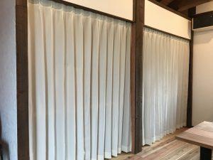 クローゼットカーテン