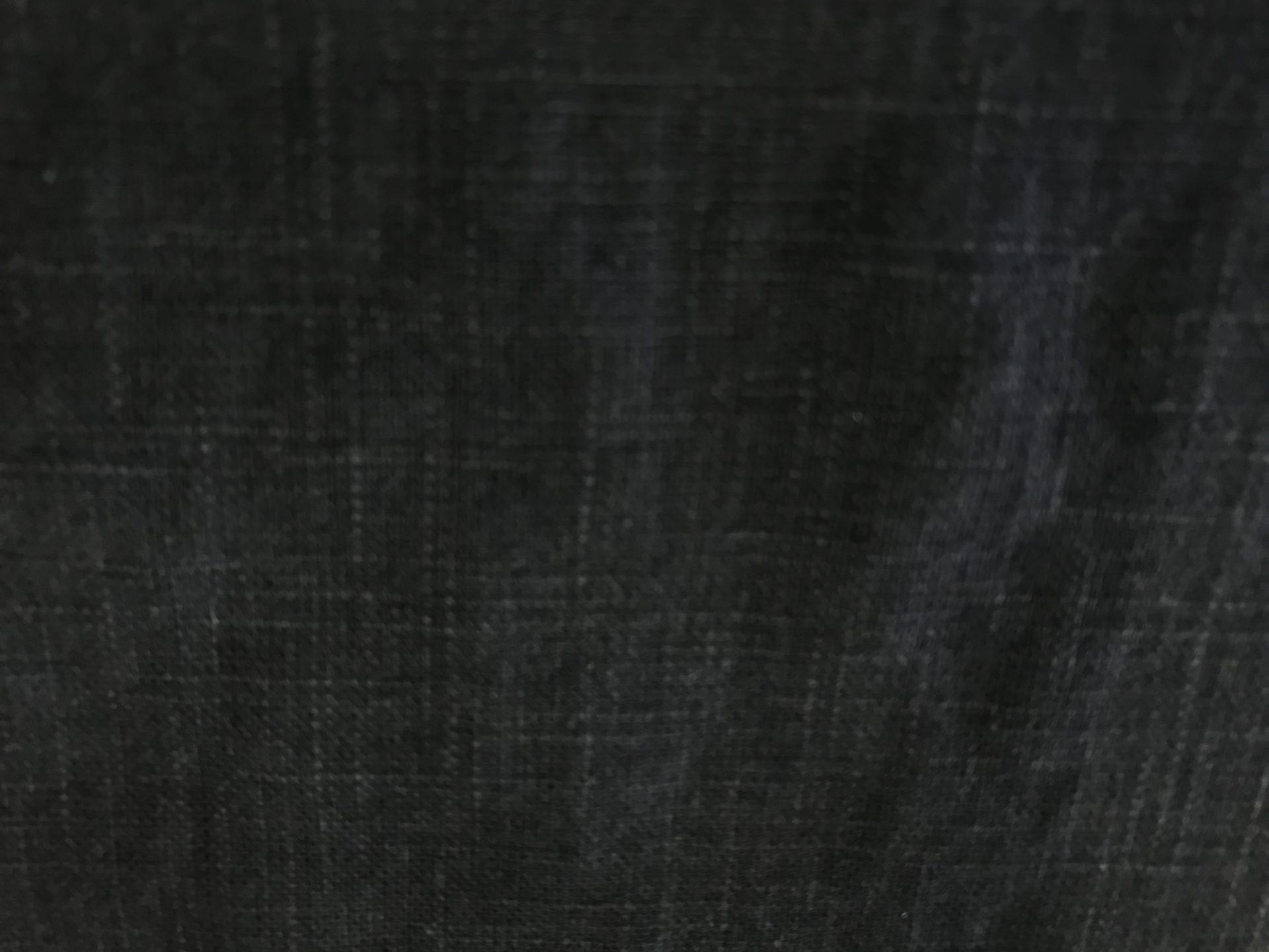 リネンカーテン濃紺