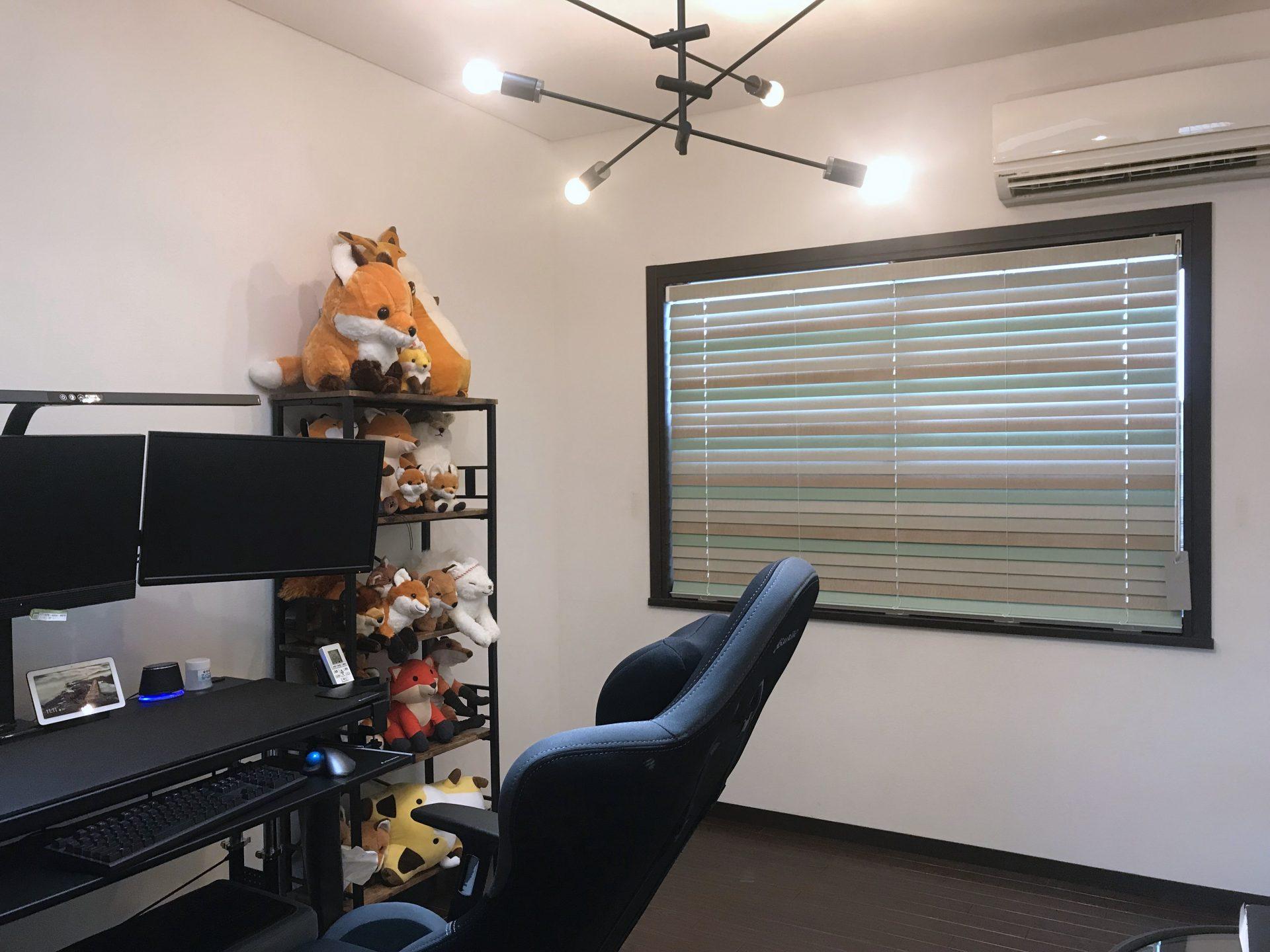 個室をワークルームへ改造