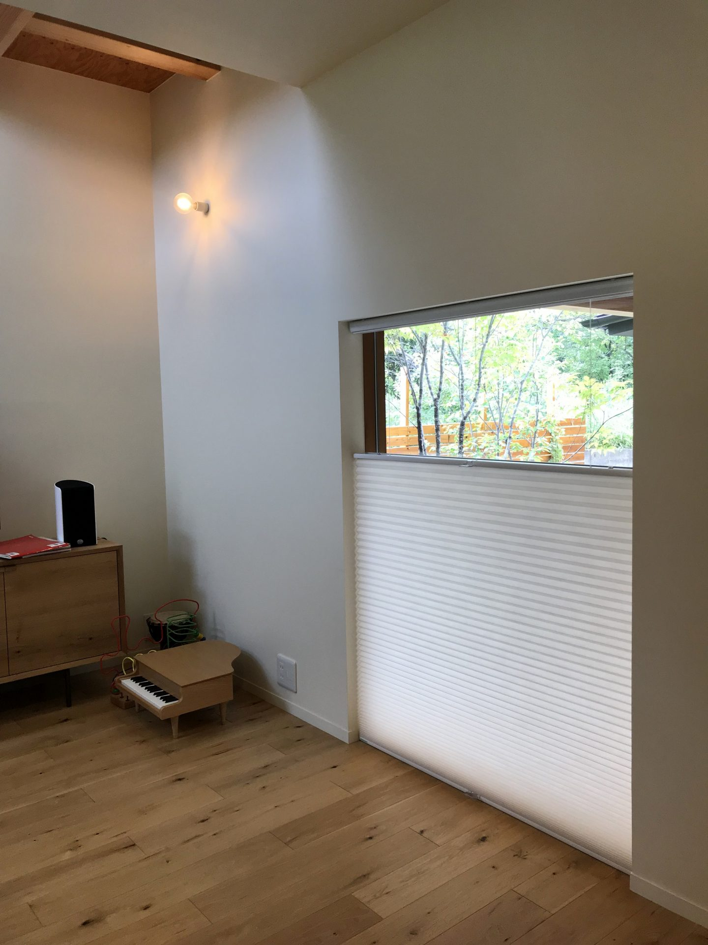 ハニカムスクリーンの窓枠内付けの取付条件