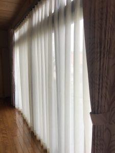 柄出し(パターン)縫製カーテン