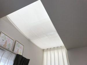 天幕カーテン。固定式