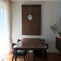ナニック木製ブラインド ヒノキシリーズ取付 香りが楽しめた