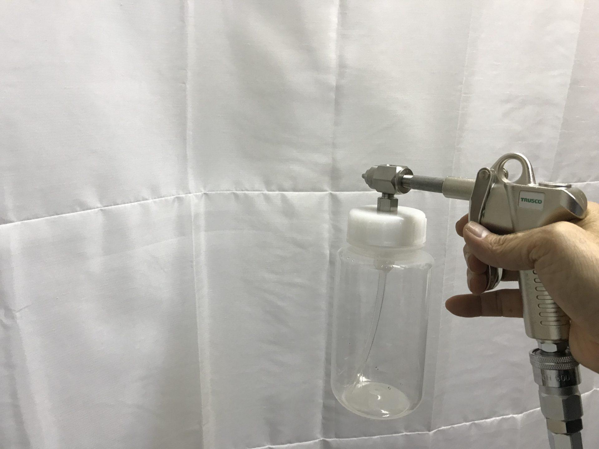 防電防汚エコキメラプラス塗布