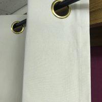 11号帆布のハトメカーテン