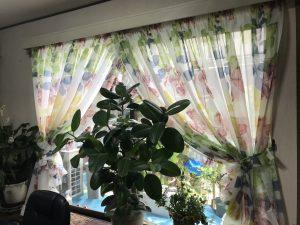 L型フリルスタイルカーテン
