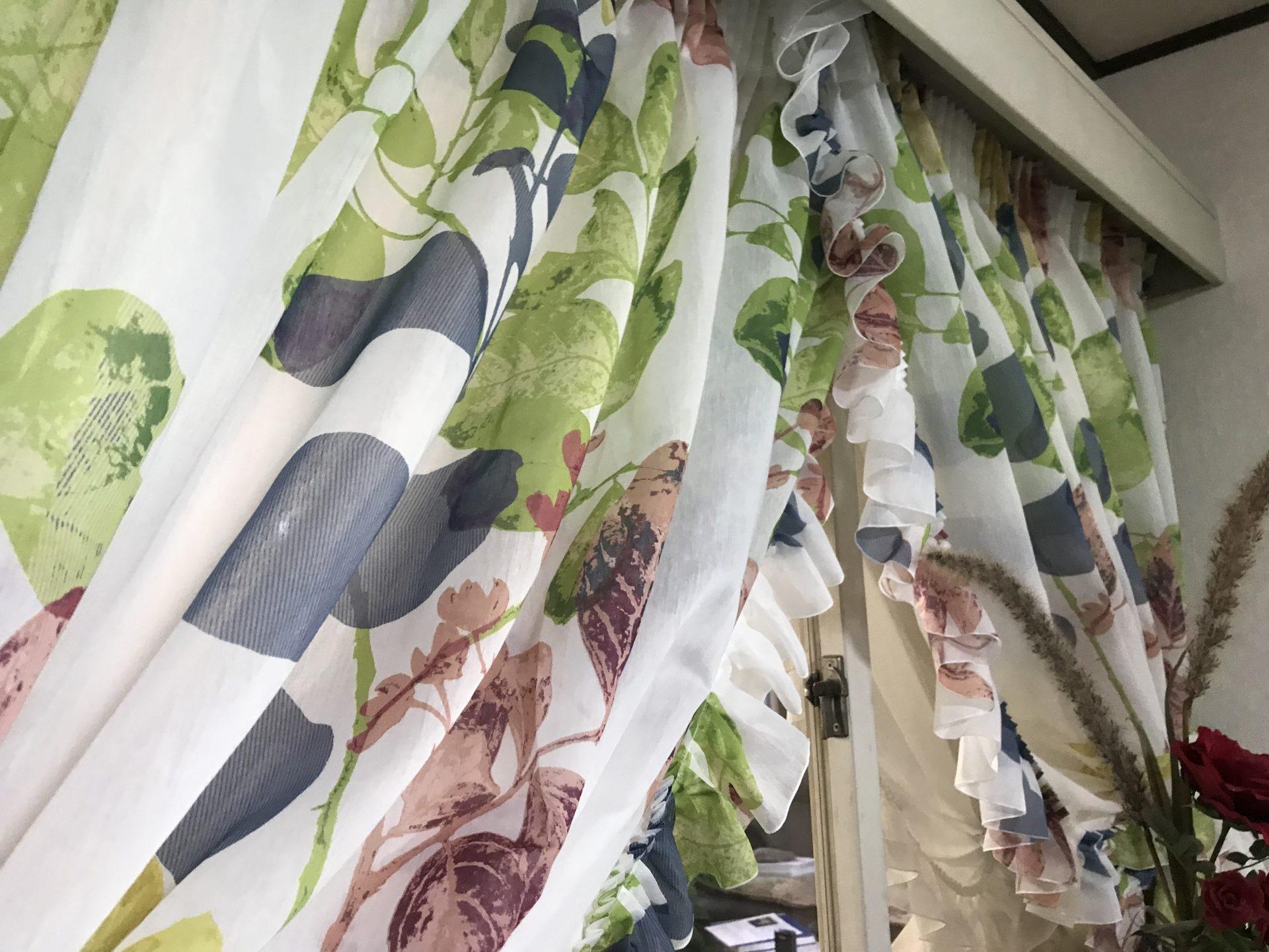 クロスオーバースタイルカーテン