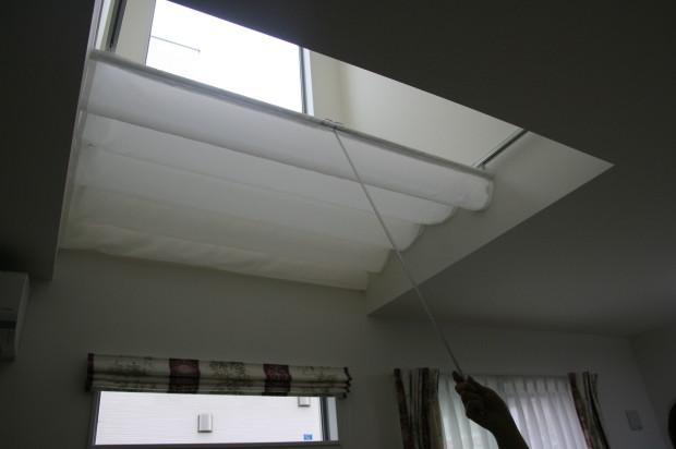 天幕カーテンバトン式の使用部品公開