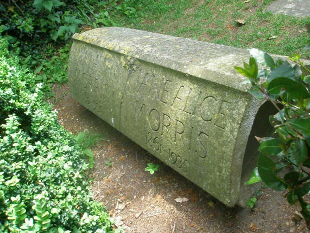 ウィリアムモリスの墓