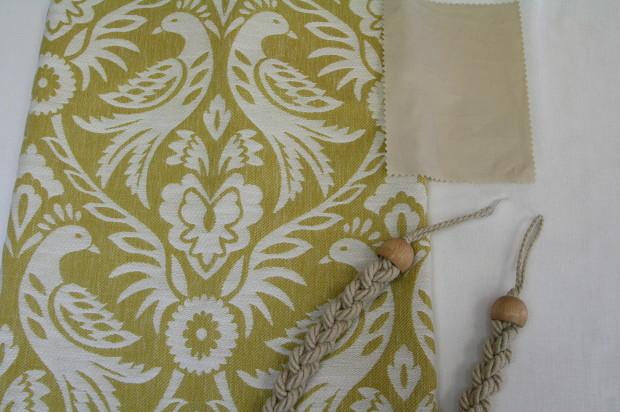 英国製カーテン