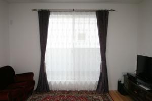男子のカーテン