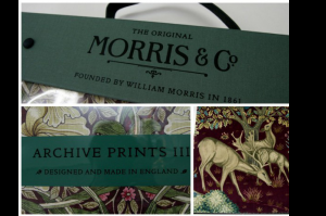 モリスの2015年春夏コレクションから、MILLIAM MORRIS ArchiveⅢコレクション